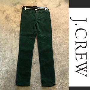 J.Crew Stretch Velvet Pants